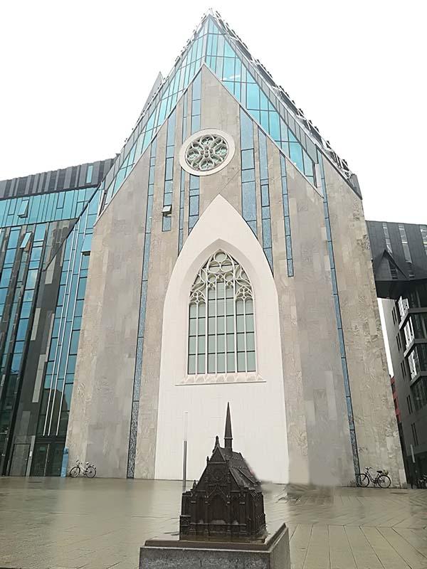 Universitätskirche Leipzig Außenansicht